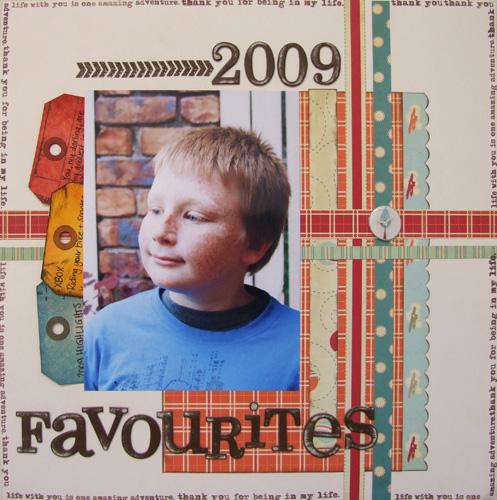 2009 Favourites Dominic